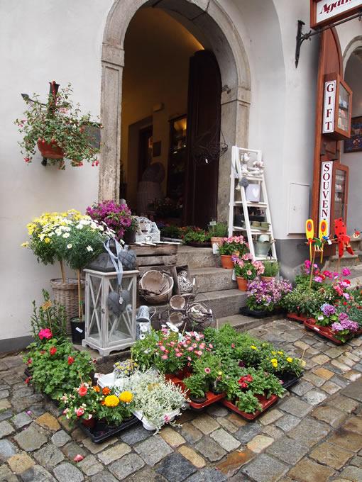 町のお花屋さん。(きれいだったからおまけ)