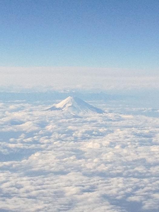 雲海の富士山、素敵でしょう!?