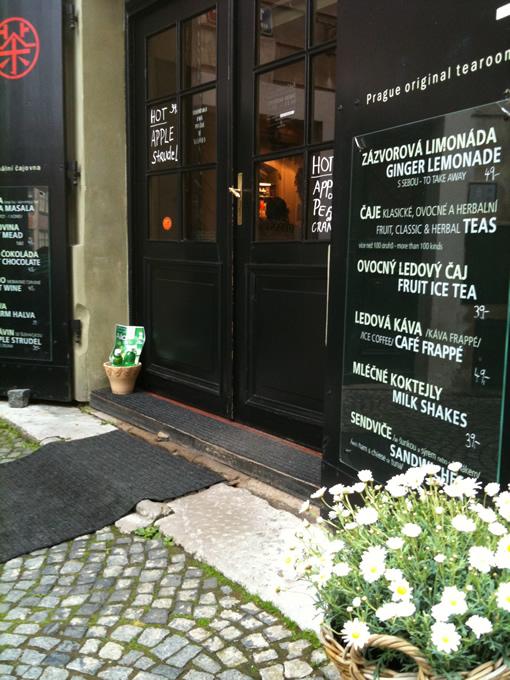 プラハのお茶カフェ