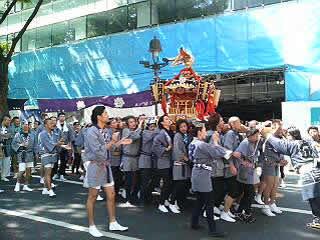 渋谷のお祭り(ちょっと前)