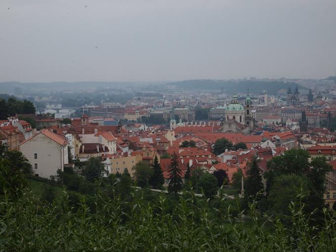 丘の上からの眺め(ちょうど中心あたり)