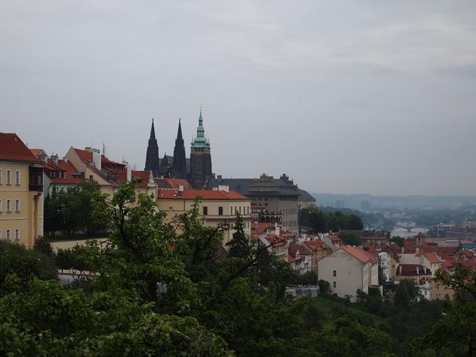丘の上からの眺め(少し左より)