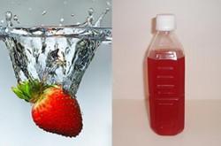 ストロベリーの酵素ジュース